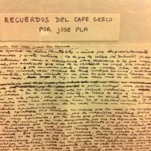 Manuscrito Josep Pla