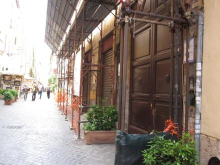 Via Margutta 51, casa de Gregory Peck en Vacaciones en Roma