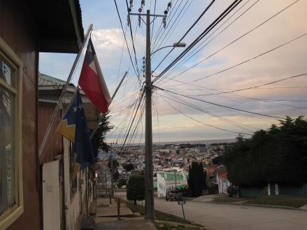 Bandera Punta Arenas