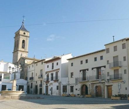 Plaza de Albornoz, la plaza de la Villa de Requena