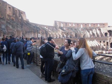 Coliseo Selfie